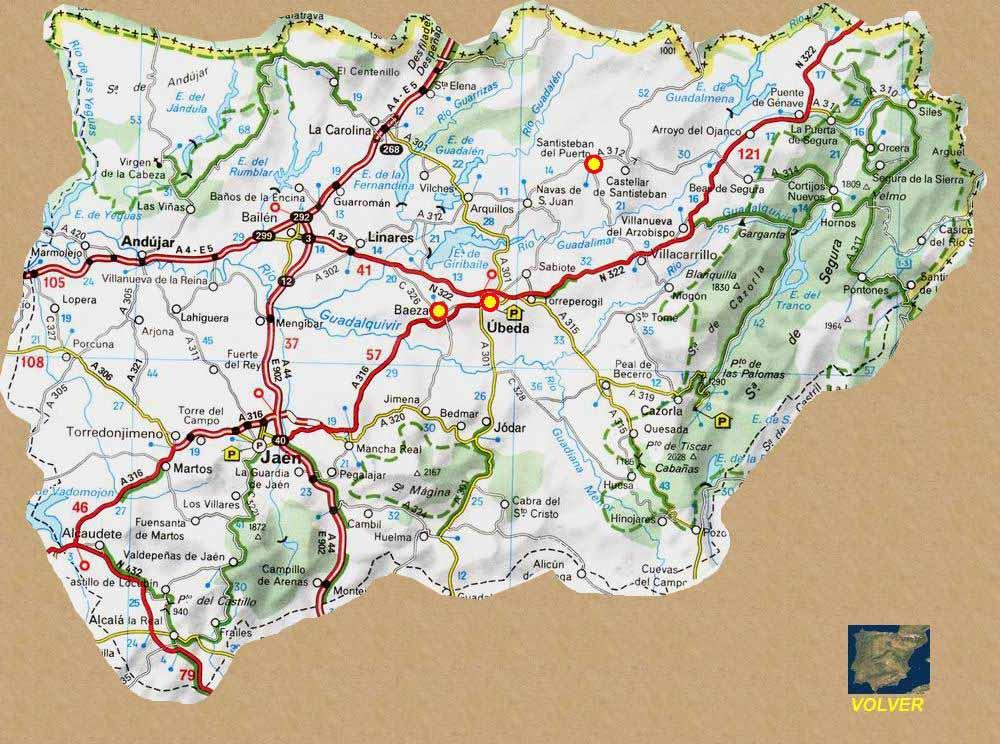 Rutas Romanicas Por La Provincia De Jaen A Garcia Omedes