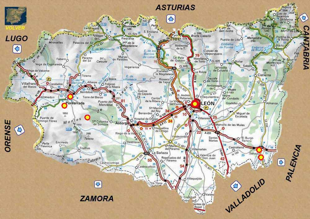 Rutas Romanicas Por La Provincia De Leon A Garcia Omedes