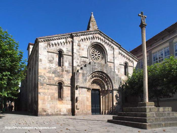 La Coruña Iglesia De Santa María Del Campo A García Omedes