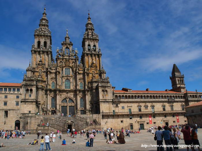 Catedral de santiago de compostela a garc a omedes - Arquitectos santiago de compostela ...