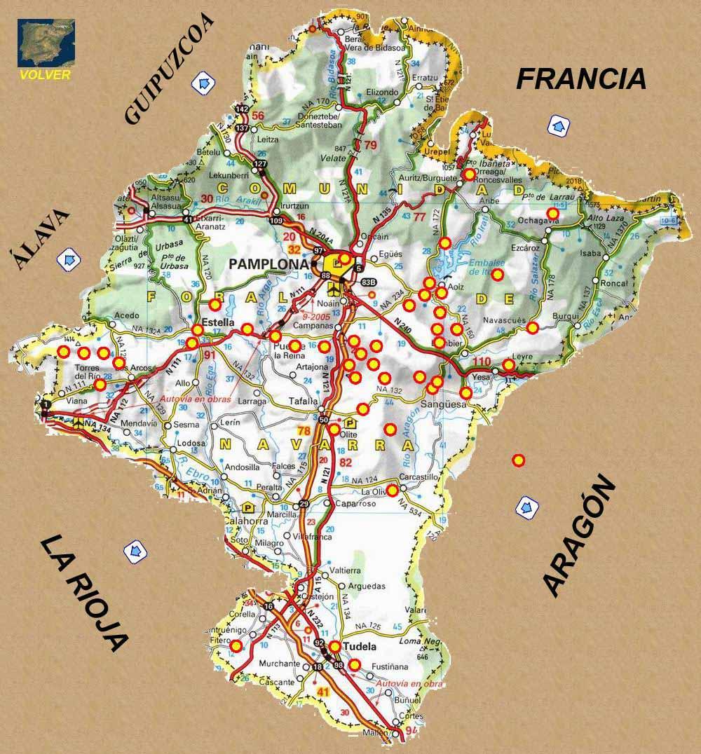 provincias de españa mapa interactivo