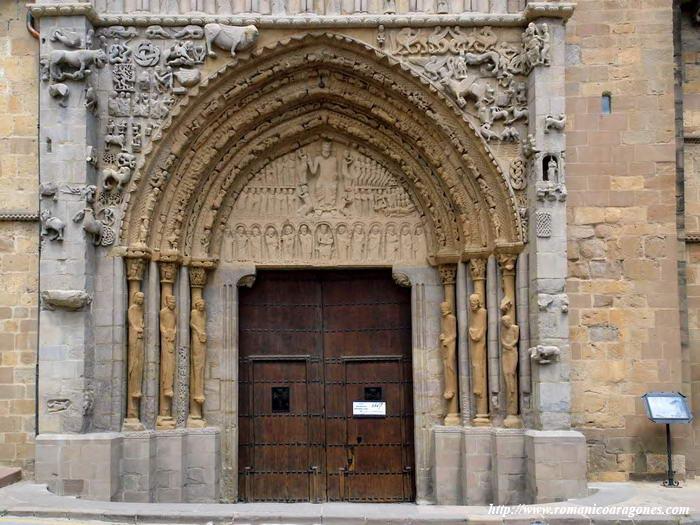 Sangüesa Santa María La Real Romanico En Navarra A Garcia Omedes