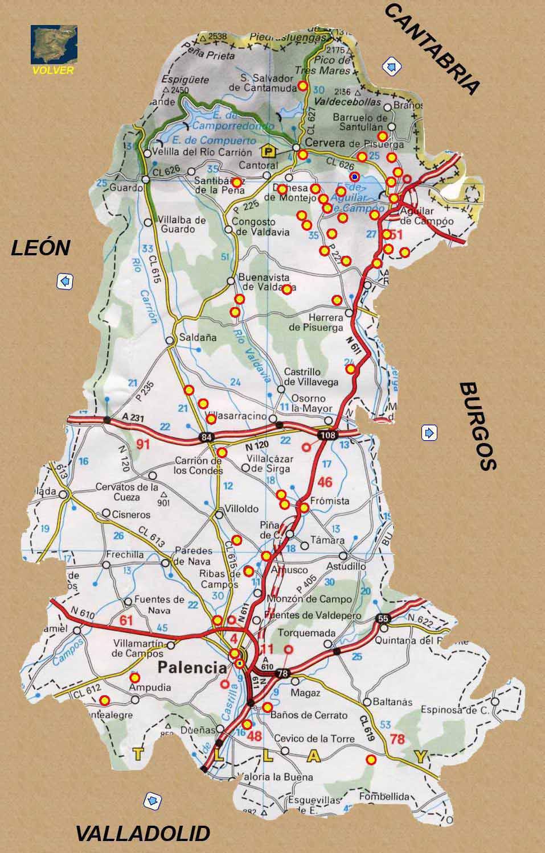 Rutas Romanicas Por La Provincia De Palencia A Garcia Omedes